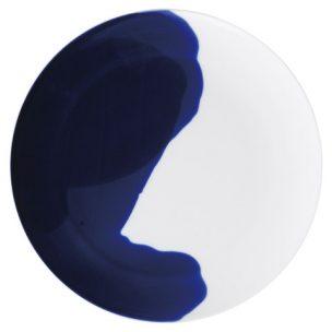 シェードブルー 23㎝ラウンドプレート